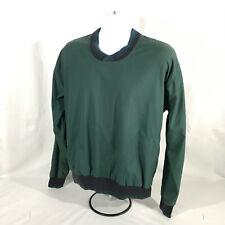 WinnerMate Microfiber Long Sleeve Pullover Mens Small Green Golf Apparel