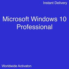 Windows 10 Pro Professional 32/64Bit Worldwide Activation Key