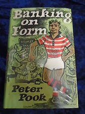 BANKING ON FORM by PETER POOK - ROBERT HALE - H/B WITH JACKET - UK POST £3.25