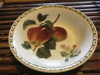 Rare Queen's Royal Horticultural Society Hookers Fruit Apple Cereal/Soup bowl