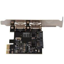 SCHEDA ADATTATORE PCI-E PCI-EXPRESS A ESATA SATA 3.0 HK
