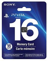 Sony PS Vita (Playstation Vita) Memory Card 16 GB - Ships from USA