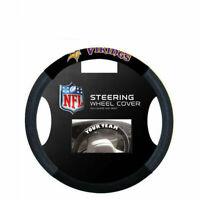 NFL Minnesota Vikings  Poly-Suede Steering Wheel Cover