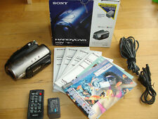 Sony Handycam HDR-HC3k High Definition Camcorder NightShot Remote Manuals Box