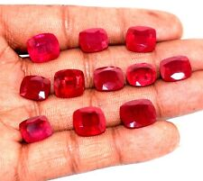 95 Ct Natural Mix Cut Magenta Color Ruby Manik Lot Mozambique GGL Certified