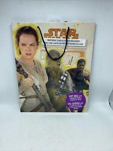 "Hallmark Star Wars Gift Bag 13"" x 10.5"" Includes Tissue & Gift Card Set New"