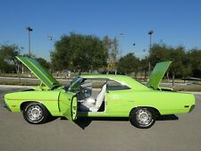 1970 Plymouth Road Runner Numbers Matching Original California Car.