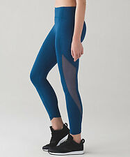 NWT lululemon Sole Training 7/8 Tight  Size6 poseidon blue