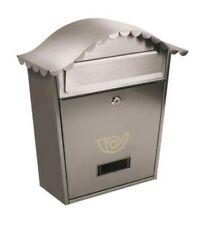 Cassetta Postale Lifter CHALET 37x36,5x10,5 cm in Acciaio Inox Colore Argento