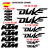 PEGATINA VINILO ADHESIVO KTM DUKE MOTO VINIL STICKER DECAL KIT DE 14 unds