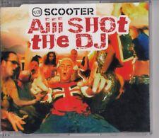 SCOOTER Aiii Shot The DJ 4 TRACK CD MAXI SHEFFIELD TUNES GERMANY