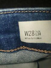 Jamie Ripped Knee Jeans W28 L34 Size 10 Bnnt