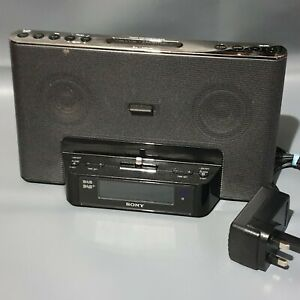 Sony XDR-DS16iPN DAB and FM clock radio with iPhone lightning dock No Remote