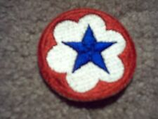 WWII US Army Service Forces ASF Army Service Forces patch cut edge