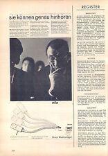 Braun-pcs5-stéréo - 1963-publicité-publicité-genuineadvertising - NL-Correspondance