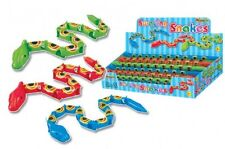 4 SWAYING SNAKES PARTY FILLER / BAG ITEMS