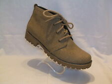 CLIFFS BY WHITE MOUNTAIN FABRIC LACE UP ANKLE BOOTS NEW IN BOX