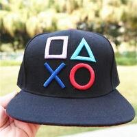 PlayStation Embroidery Baseball Cap Men Women Fashion Adjustable Hat Snapback