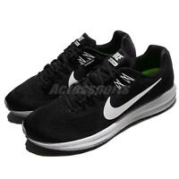 3a0777e9919c2 Nike Air Zoom Structure 21 Black White Men Running Shoes Sneakers 904695-001