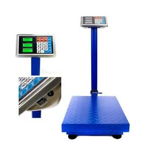 300KG/660lb Shipping Digital Counting Warehouse Pet Mailing Platform Bench Scale