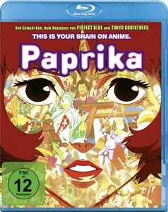 Paprika [Blu-ray/NEU/OVP] Zeichentrickgeschichte jenseits der üblichen Fantasy-