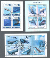 Whales-min sheets collection 8 different -Marine life