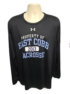2013 Under Armour East Cobb Lacrosse Adult Black XL Jersey