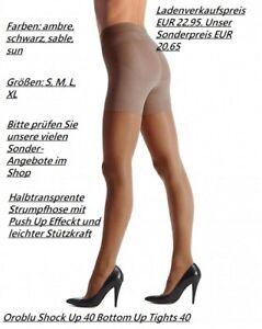 Oroblu Strumpfhose Shock Up 40 formt Bauch Po-Partie Oberschenkel und Beine