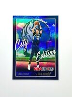 Luka Doncic 2021 NBA Hoops City Edition Holo Insert #7 Dallas Mavericks