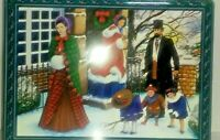 Collector's Tin, Cadbury's Chocolate Biscuits, Christmas/Winter scene,