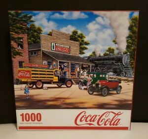 Springbok Coca-Cola - All Aboard (1000 piece Puzzle)