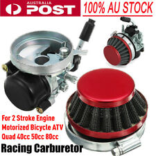 Racing Carb Carby Carburetor 49cc 80cc Moped Motorised Motorized Push Bike