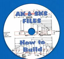 AK & SKS Rifles, HOW TO BUILD, instruction and blueprints on CD-ROM!