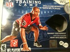 EA Sports Active NFL Footbal Training Camp Game Bundle Wii w/ monitors & RCVR