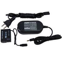 HQRP AC Power Adapter & DC Coupler for Panasonic DMW-AC8PP DMW-DCC8