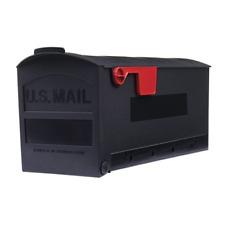 Gibraltar Plastic Mailbox. Medium Size. Color is Black.