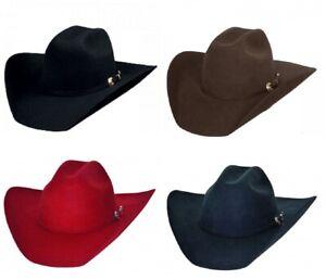 NEW Bullhide Hats 0550 Kingman 4X Felt Cowboy Hat