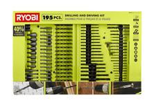 RYOBI Drill and Driver Bit Set (195-Piece)