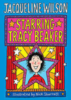 Starring Tracy Beaker by Jacqueline Wilson, Good Used Book (Hardcover) FREE & FA