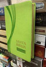 Biblia Reina Valera 1960 Ultrafina Verde Piel Imitacion