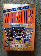 SuperBowl 30th Anniversary Wheaties Box Unopened 1996