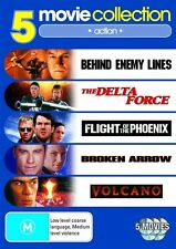 Behind Enemy Lines, Delta Force, Flight of the Phoenix, Broken Arrow, Volcan Dvd