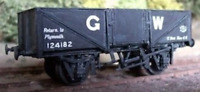 Cambrian C97 OO Gauge GWR 12/13t Steel Open Wagon Kit