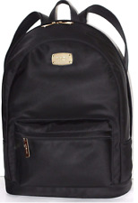 NEW WT MICHAEL KORS Jet Set Item Lightweight Large Black Nylon Backpack $298