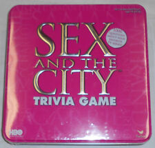 2004 Sex and the City Trivia Game in Pink Tin NEW SEALED tv show board game HBO