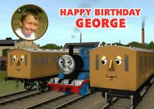 PERSONALISED ANNIE & CLARABEL THOMAS THE TANK BIRTHDAY ANY OCCASION PHOTO CARD