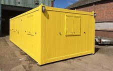 30ft x 12ft Flat Sided Anti Vandal Accommodation Building