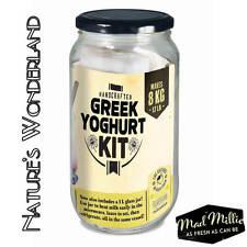 GREEK YOGHURT KIT - Mad Millie - Homemade Probiotic Culture & includes RECIPES