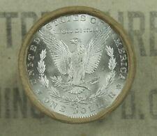 $20 BU MORGAN DOLLAR ROLL UNCIRCULATED SILVER CC & CC Mint ENDS DOLLARS Z14
