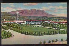 HOT SPRINGS NEW MEXICO NM Carrie Tingley Hospital Caballo Mountains Curteich PC